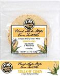 Corn whole grain tortillas
