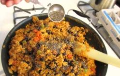 Soyrizo burritos 5