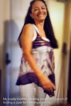 My Mom, the O.G. advocate