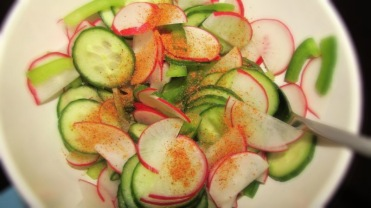 Hot/Cold Pickled Salad