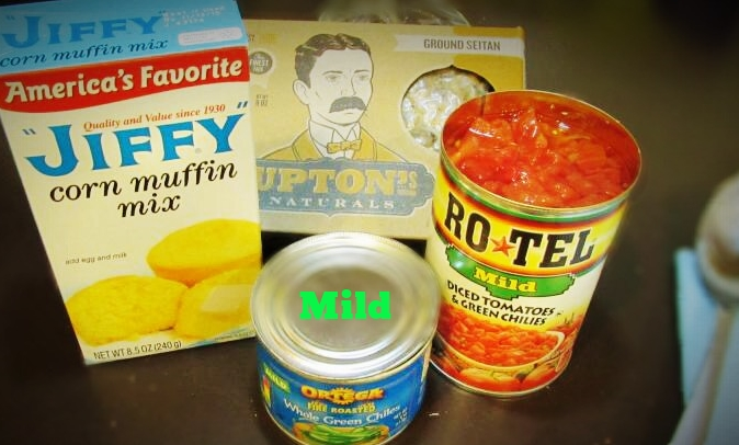 Tamale Cupcakes- ingredients