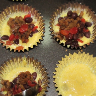 Tamale Cupcakes- Put together 2