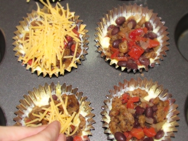 Tamale Cupcakes- Put together 3