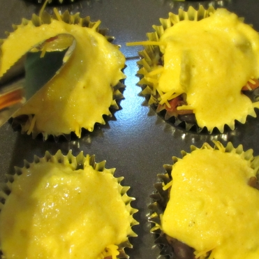 Tamale Cupcakes- Put together 4