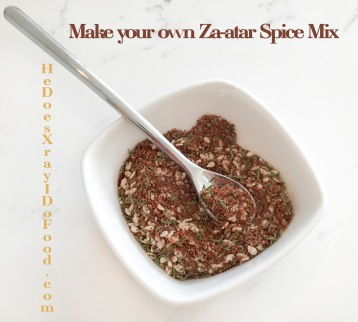 MY ZAATAR RECIPE, THE ADDICTIVE SPICE MIX THAT IS GOOD ON ANYTHING- HeDoesXrayIDoFood.com