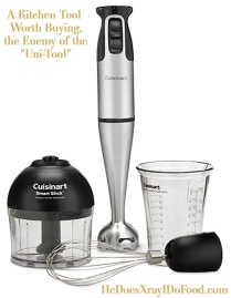 """A Kitchen Tool Worth Buying, the Enemy of the """"Uni-Tool""""- HeDoesXrayIDoFood.com"""