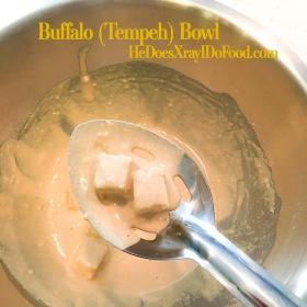 Buffalo (Tempeh) Bowls-HeDoesXrayIDoFood.com